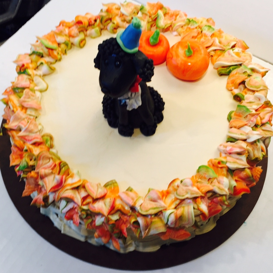 Oreo Dog Birthday Cake